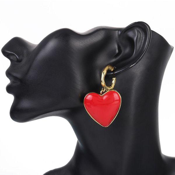 Love alloy drop earrings fashion earrings NHBQ189637
