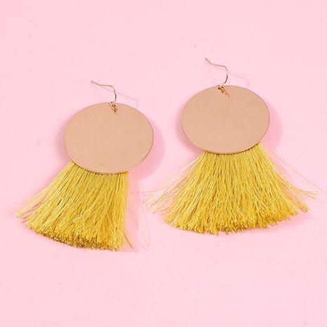 New earrings boho ethnic earrings delicate long fringe earrings NHMD189660's discount tags