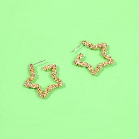 Earrings Creative Geometric Star Earrings Wild Beautiful Earrings NHMD189668's discount tags