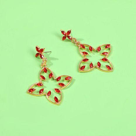Trendy irregular earrings female diamond geometric baroque earrings simple fashion delicate earrings NHMD189682's discount tags