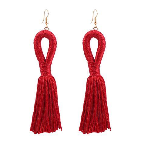 Hot Earrings Vintage Tassel Pendant Earrings Bohemian Earrings NHMD189688's discount tags