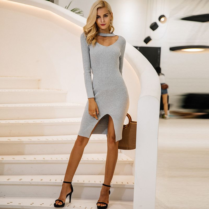 Sweet tight sexy dresses wholesale fashion women's clothes NHDE189478