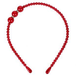 Princess imitation pearl diamond headband headband women NHCT189828's discount tags