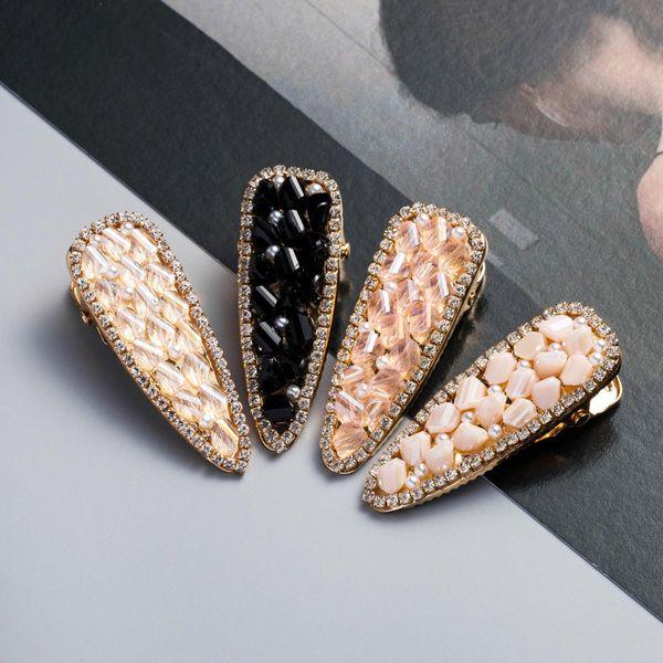Hairpin Acrylic Pearl Duckbill Clip Korean bb Clip Girl Heart Hair Accessories Hairpin Top Clip NHJE189847