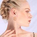 Earrings long 925 sterling silver stud earrings female new temperament asymmetric earrings NHQD189936