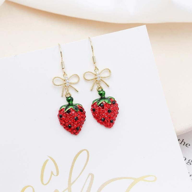 Female temperament earrings NHDO190063