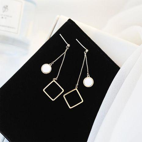 S925 sterling silver ear needle hypoallergenic earrings temperament long earrings NHDO190065's discount tags