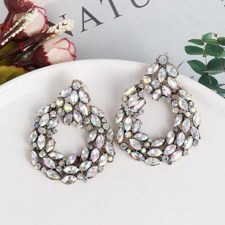 New retro studded geometric stud earrings NHJJ190102's discount tags
