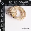 New micro inlay earrings twist earrings wholesale NHJJ190103