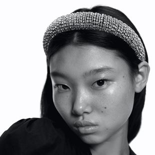 Full diamond hair hoop thick non-slip hairpin sponge rhinestone headband female headdress NHMD190125's discount tags