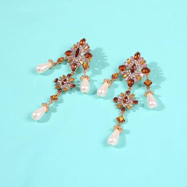 Color-block earrings NHMD190135