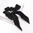 Bow head rope Japan and South Koreas sweet wild color fabric bowel elastic hair accessories NHDM190145