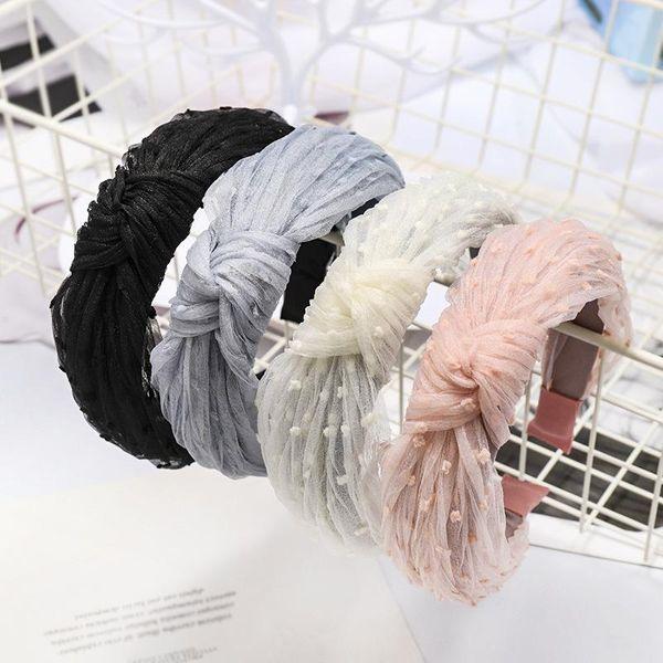 South Korea's new lace silk yarn headband hair accessories headband NHDM190147