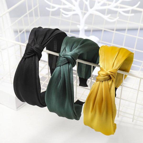 New Korean net yarn hair hoop multilayer Korean knotted headband hair accessories headdress women NHDM190158