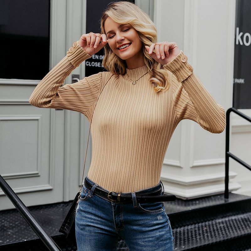 2019 new simple sweater fashion women's wholesale NHDE190178
