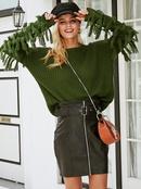 2019 new tassel sweater fashion women39s wholesale NHDE190180