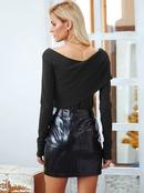 2019 New Black Sexy Top Fashion Women39s Wholesale NHDE190186