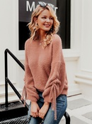 2019 new solid color sweater fashion women39s wholesale NHDE190209