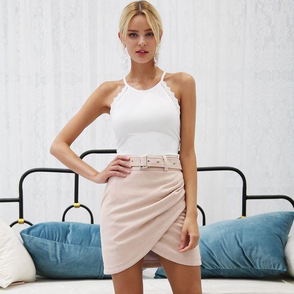 2019 New Front Cross Skirt Fashion Women Wholesale NHDE190210