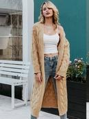 2019 new coat sweater long fashion women39s wholesale NHDE190211
