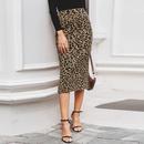 2019 new sexy leopard skirt fashion women39s wholesale NHDE190212