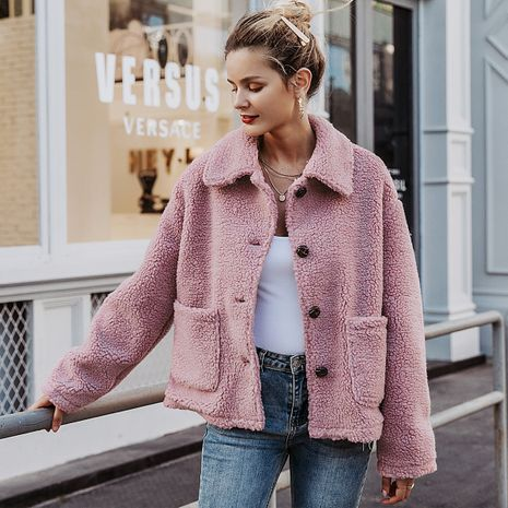 2019 New Pink Sweet Jacket Fashion Women Wholesale NHDE190214's discount tags