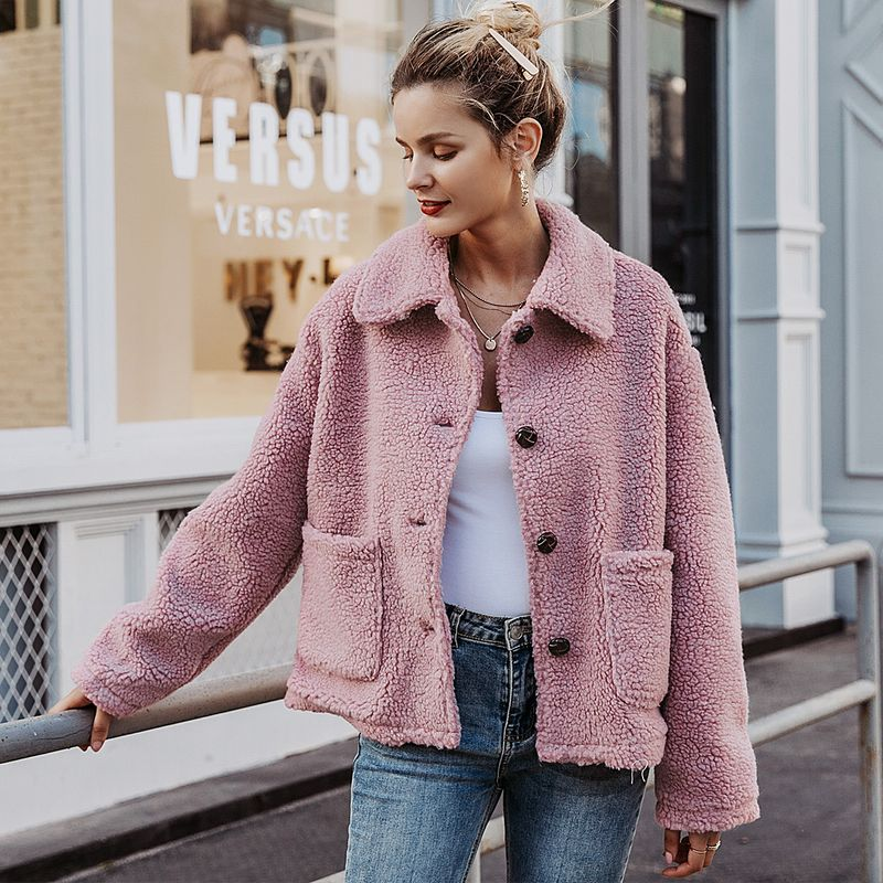 2019 New Pink Sweet Jacket Fashion Women Wholesale NHDE190214