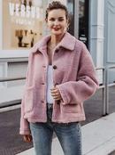 2019 New Pink Sweet Jacket Fashion Women Wholesale NHDE190214