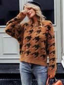 2019 new sexy pattern sweater fashion women39s wholesale NHDE190236