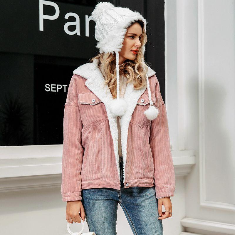 2019 new sweet warm jacket fashion women's wholesale NHDE190244