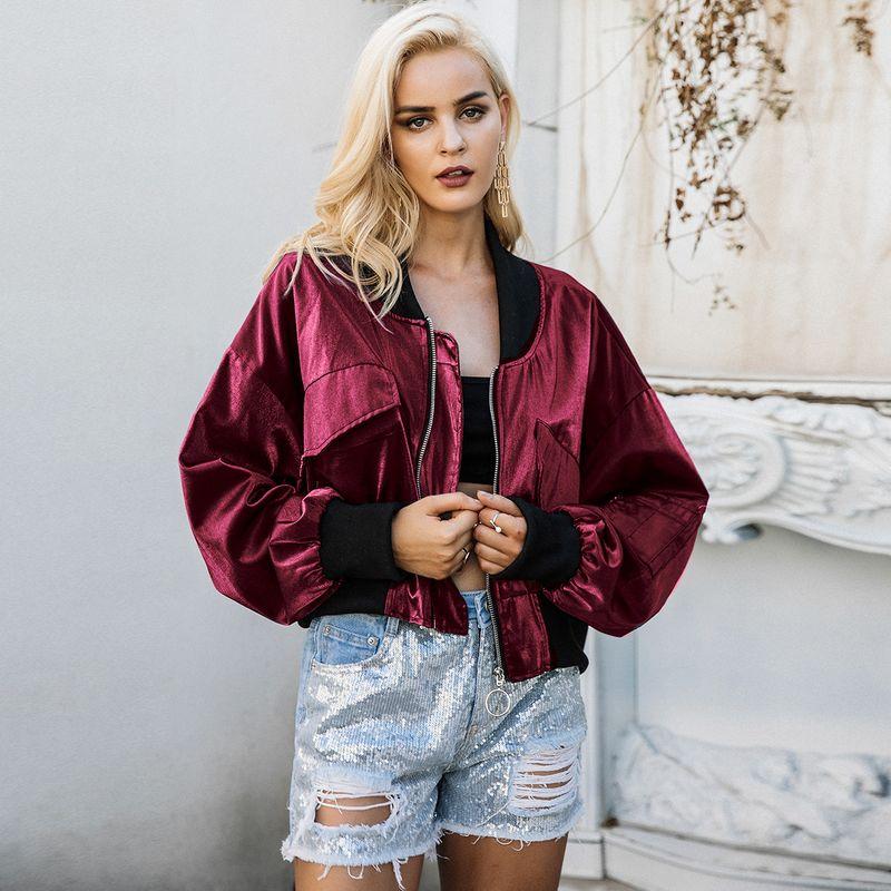 2019 new bright coat fashion women's wholesale NHDE190252