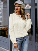 2019 new round neck thick sweater fashion women39s wholesale NHDE190254
