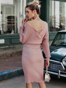 2019 New Vneck Skirt Fashion Women Wholesale NHDE190260