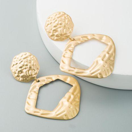 Pendientes de moda para mujer pendientes de aleación irregular chapados en oro pendientes populares pendientes NHLN190434's discount tags