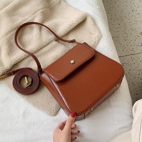 Bolso de mujer Bolso mensajero de hombro nuevo Bolso cuadrado pequeño NHXC190522's discount tags