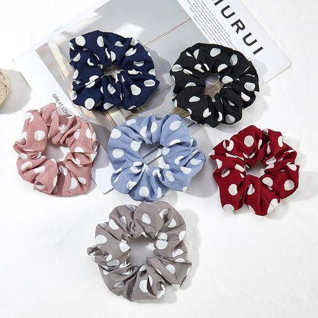 Dot new spring and autumn creative christmas hair ring high elastic seamless cloth ring female headwear wholesale NHOF183967's discount tags