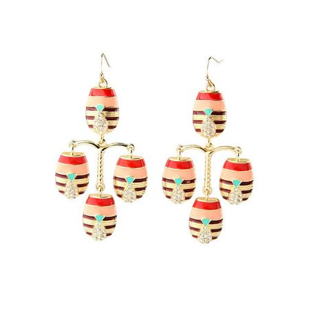 Fashion Explosion Jewelry Wholesale Elegant Noble Colorful Wild Lady Earrings NHQD183866's discount tags
