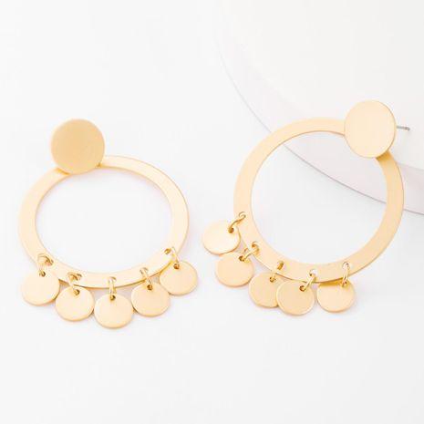 Fashion round alloy earrings geometric earrings women's earrings NHJE183821's discount tags
