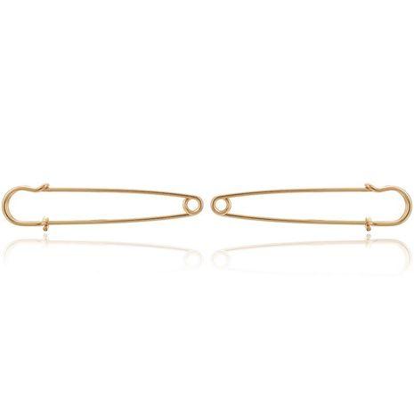 New Geometric Earrings Bohemian Simple Alloy Paper Clip Stud Earrings NHGY183790's discount tags