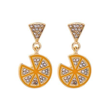 Lemon earrings women diamond earrings fashion earrings NHQD183887's discount tags