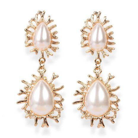 Earrings fashion imitation pearl drop earrings earrings women NHCT183776's discount tags