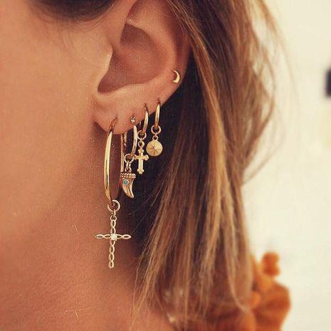 Los pendientes de las mujeres de moda establecen pendientes de joyas al por mayor NHPJ183984's discount tags