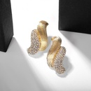Alloy diamond pearl earring accessories earrings jewelry wholesale NHJQ183834