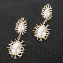 Pendientes pendientes de perlas de imitacin de moda pendientes mujeres NHCT183776