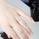 Fashion elk ring antlers ring silverplated ring women NHDP190630