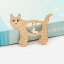 Korean jewelry wholesale cute kitten brooch sweater pin brooch NHDP190643