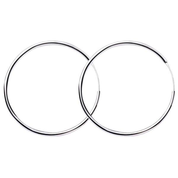 Circle earrings women simple earrings circle jewelry wholesale NHDP190647