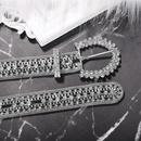 Alloy diamond belt fashion belt clothing accessories new accessories NHJQ190740
