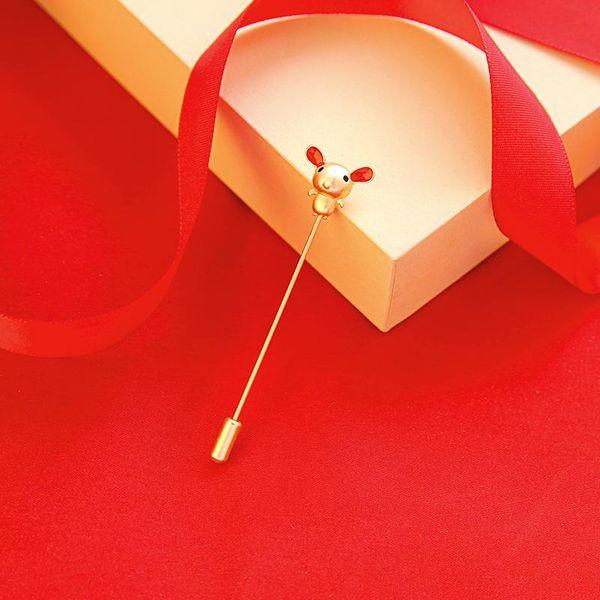 Broche mini ratón accesorio esmalte esmalte NHQD190825