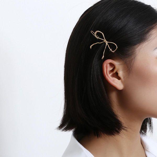 Fashion butterfly with gold trim clip headgear NHXR190928